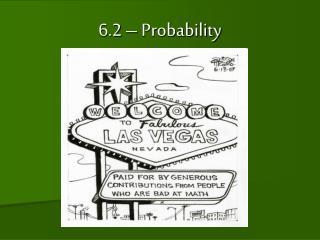6.2 �  Probability