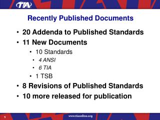 Recently Published Documents