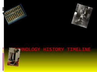 Technology History Timeline