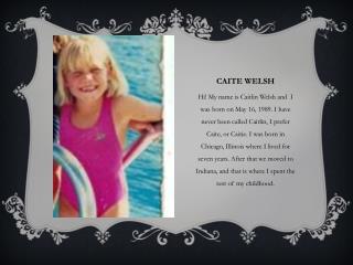 Caite Welsh