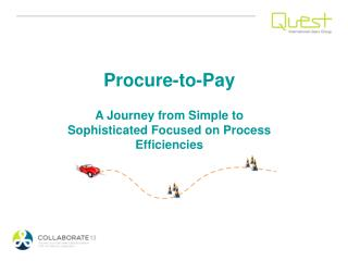 Procure-to-Pay A Journey from Simple to Sophisticated Focused on Process Efficiencies
