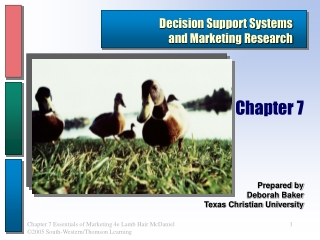 2005 SUPPLIER SURVEY  SUMMARY PRESENTATION
