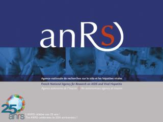 L'ANRS célèbre ses 25 ans !  The ANRS celebrates its 25th anniversary  !