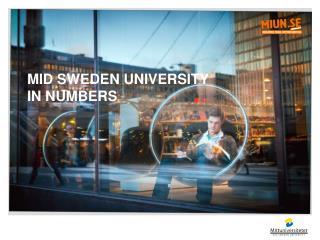 Mid  Sweden University in  numbers