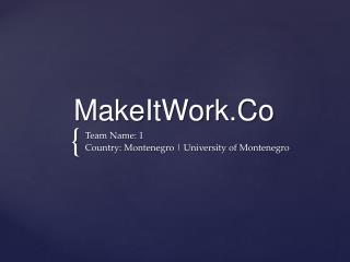 MakeItWork.Co