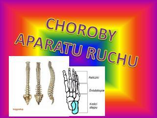 CHOROBY APARATU RUCHU