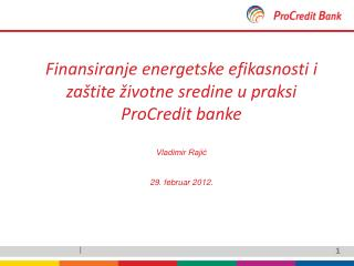 ProCredit Banke u svetu