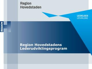 Region Hovedstadens Lederudviklingsprogram