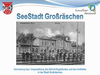Umnutzung bzw. Umgestaltung des Bahnhofsgebäudes und des Umfeldes  in der Stadt Großräschen