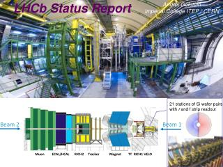 LHCb  status report