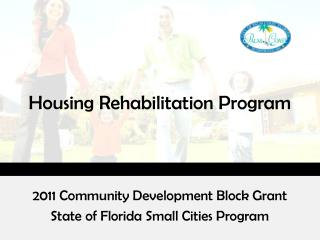 Housing Rehabilitation Program