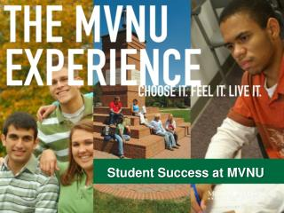 Student Success at MVNU