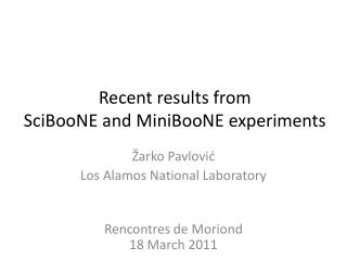 Recent results from  SciBooNE  and  MiniBooNE  experiments