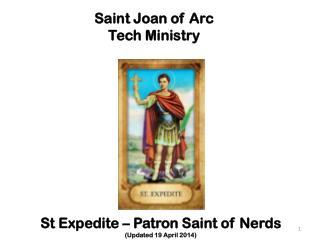 Saint Joan of Arc Tech Ministry