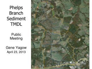 Phelps Branch Sediment TMDL