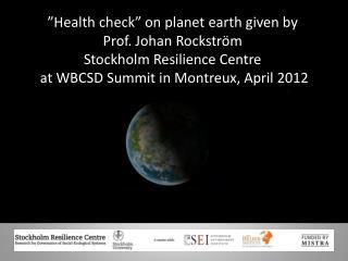WBCSD 24th April 2012