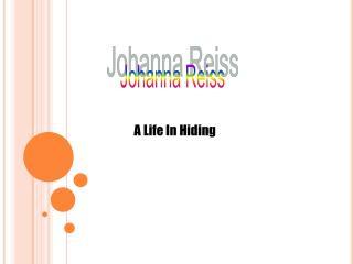 A Life In Hiding