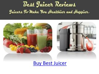 Buy Best Juicer