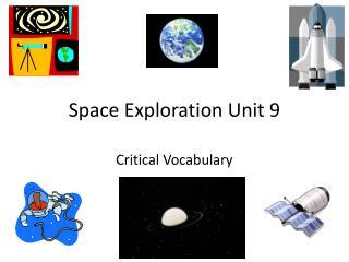 Space Exploration Unit 9