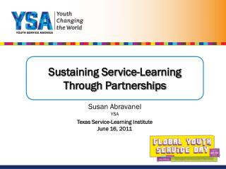 Sustaining Service-Learning Through Partnerships