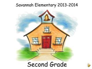 Savannah Elementary  2013-2014