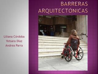 Barreras arquitectónicas