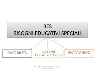 BES BISOGNI EDUCATIVI SPECIALI