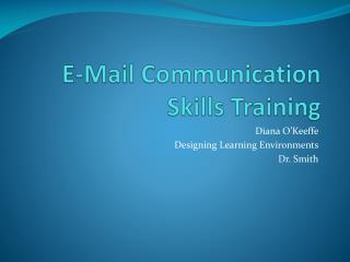 E-Mail Communication Skills Training