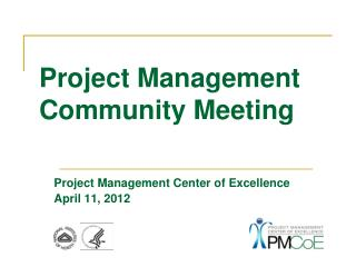 Project Management Community  Meeting