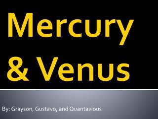 Mercury & Venus