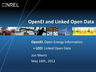 OpenEI and Linked Open Data