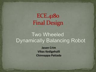 ECE.4180 Final Design