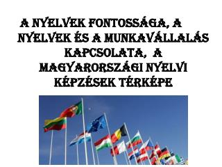 A magyar lakosság nyelvtudás szempontjából