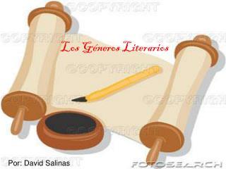 Los G neros Literarios
