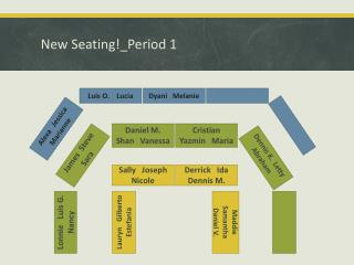New  Seating!_Period  1