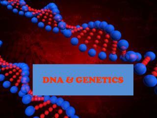 DNA & GENETICS