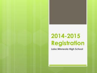 2014-2015 Registration