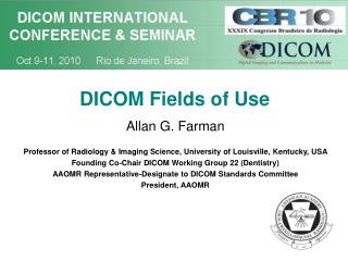 DICOM Fields of Use