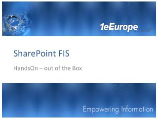 SharePoint FIS