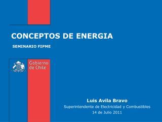 CONCEPTOS DE ENERGIA