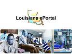 Louisiana ePortal