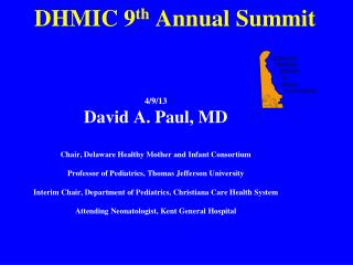 DHMIC  9 th  Annual Summit