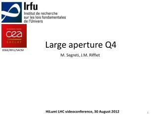 Large aperture Q4