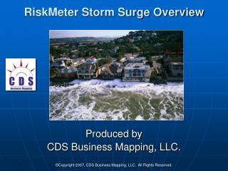 RiskMeter Storm Surge Overview