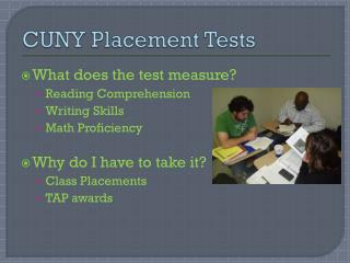 CUNY Placement Tests