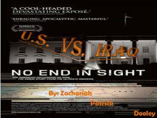 U.S.  Vs.  Iraq