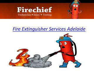 Fire Extinguisher Services Adelaide