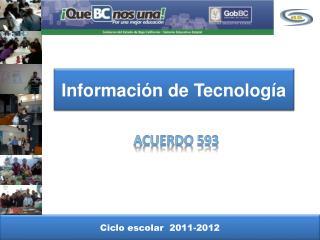 Información de Tecnología