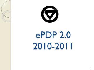 EPDP 2.0 2010-2011