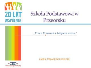 Szkoła Podstawowa w Przeorsku